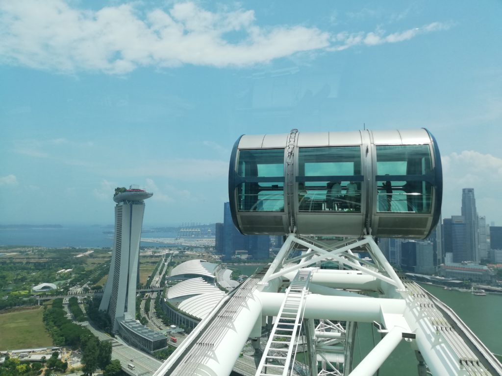 SINGAPORE FLYER TOP