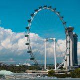 シンガポール③ シンガポール・フライヤーに大興奮