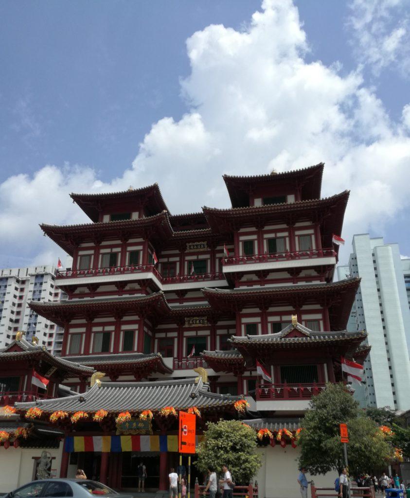 チャイナタウン 仏教寺院 佛牙寺