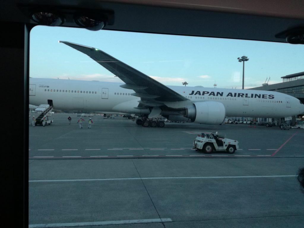 JAL飛行場