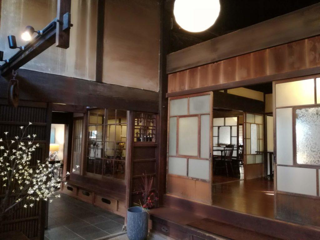 篠山城下町ホテルONAE棟食堂