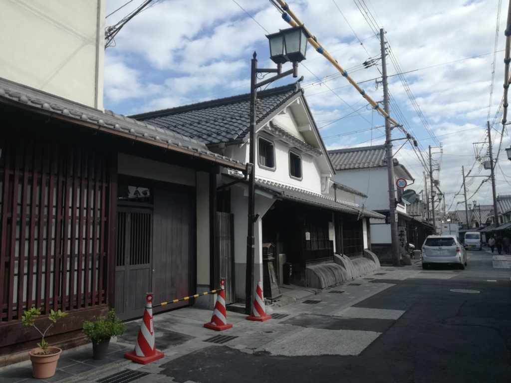 篠山城下町の町並み 蔵