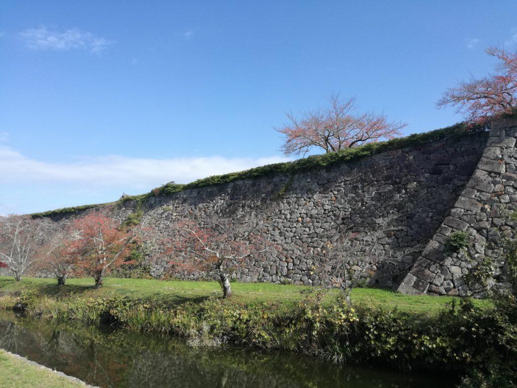 篠山城のお堀