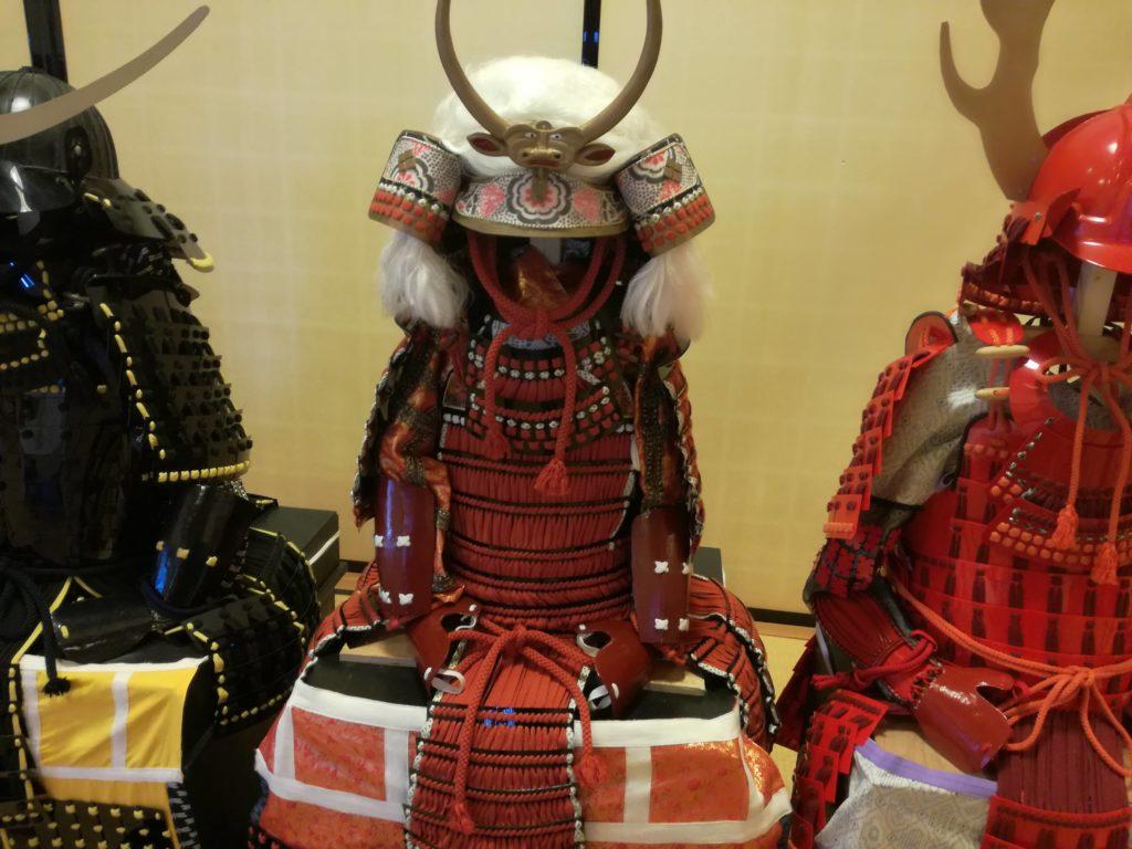 篠山城の兜
