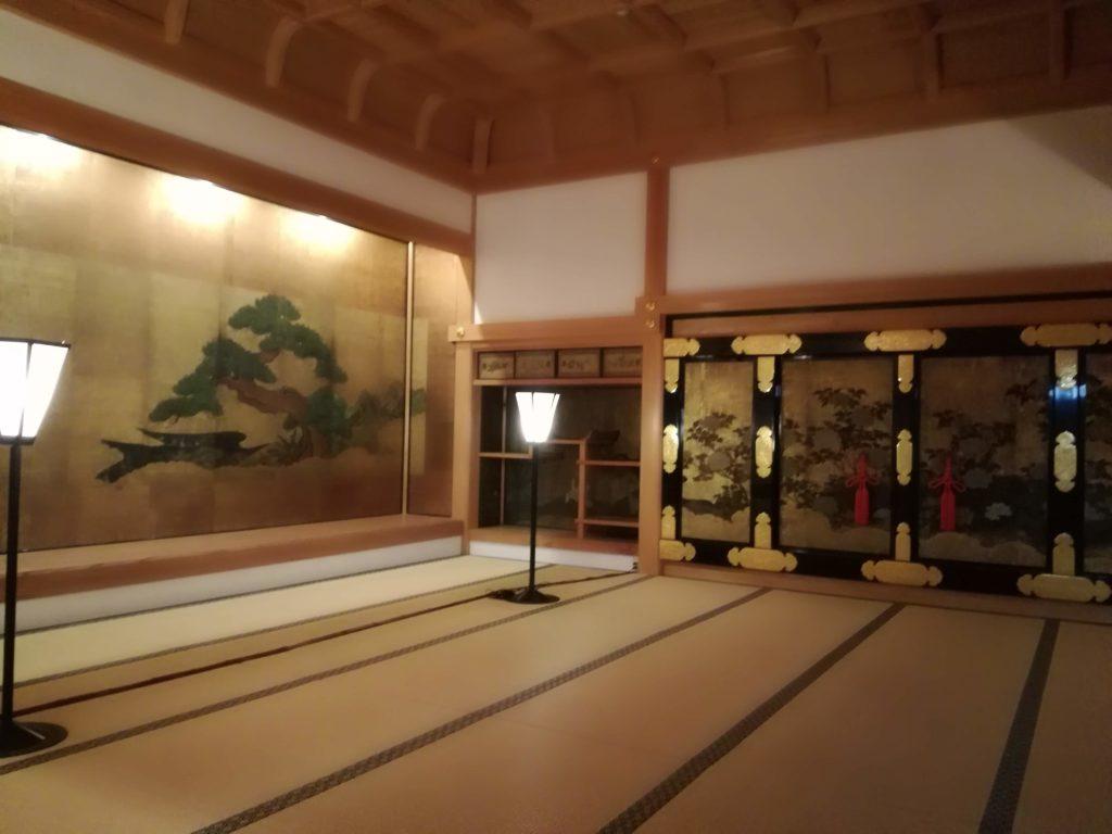篠山城大書院 お殿様の部屋