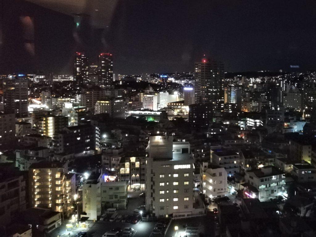 ハイアットカクテルタイムの夜景
