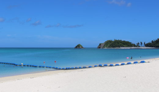 オクマプライベートビーチ&リゾート 真っ青な海