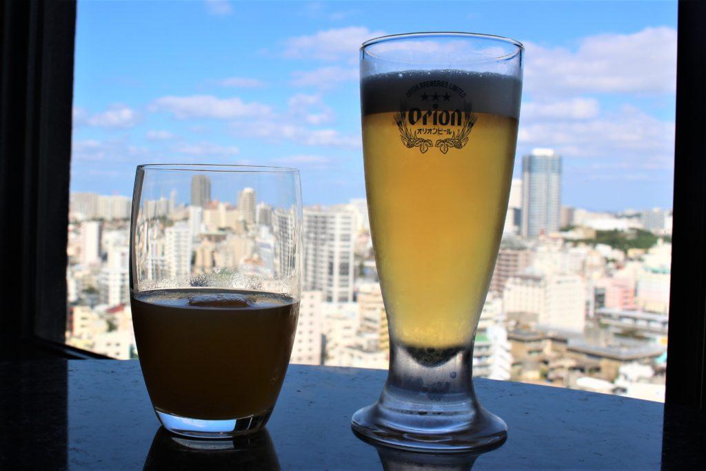 ハイアットリージェンシークラブラウンジで飲むビール
