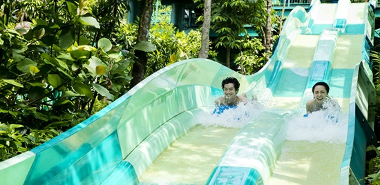 Adventure Cove Waterpark Dueling-Racer