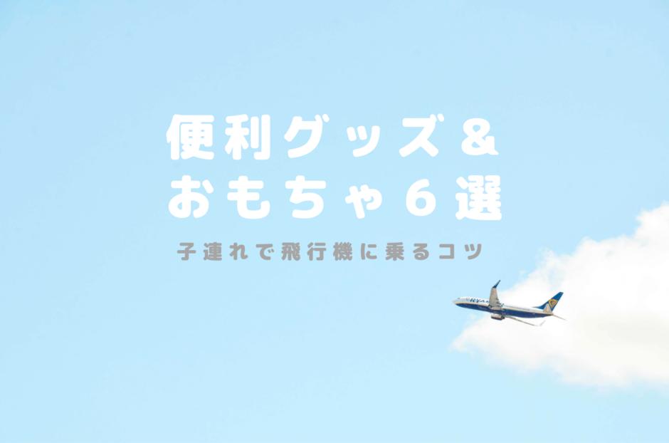 子連れで飛行機に乗るコツ|便利グッズ&おもちゃ6選