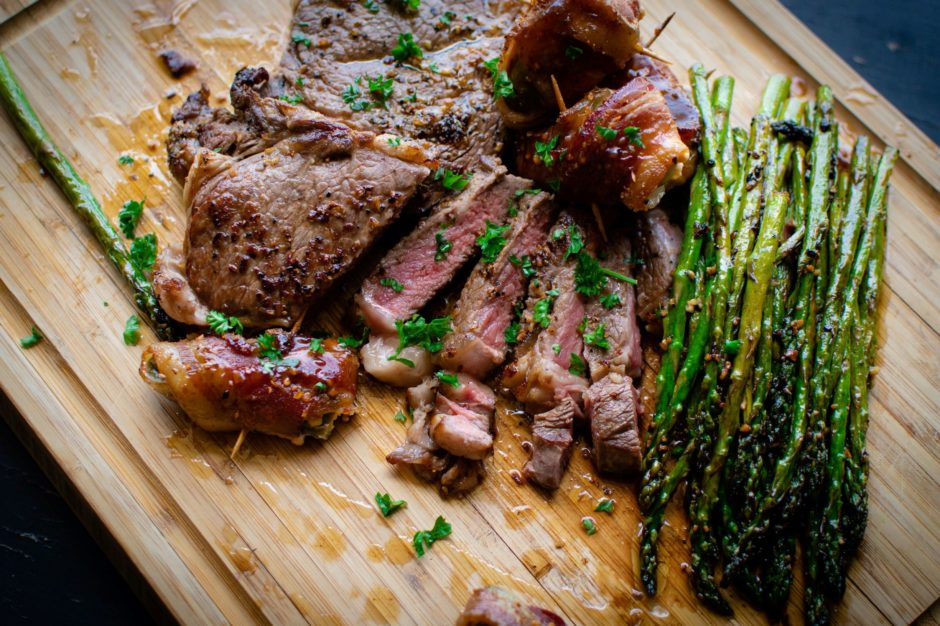 脂肪燃焼スープダイエット6日目 ステーキの画像