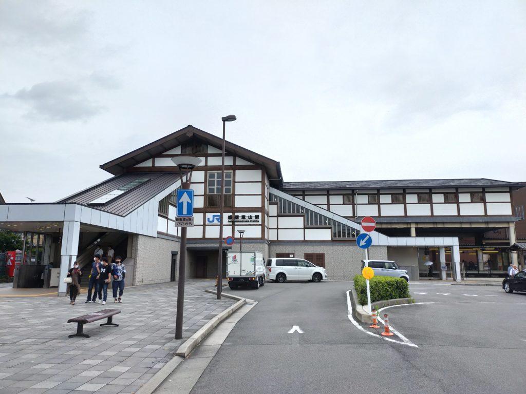 京都嵯峨嵐山駅