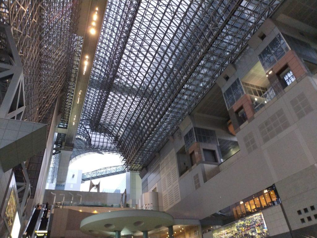 京都駅の様子