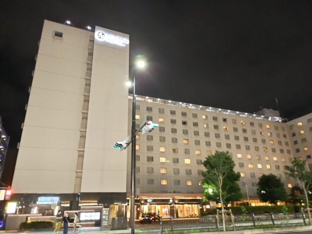 都ホテル京都八条前の横断歩道