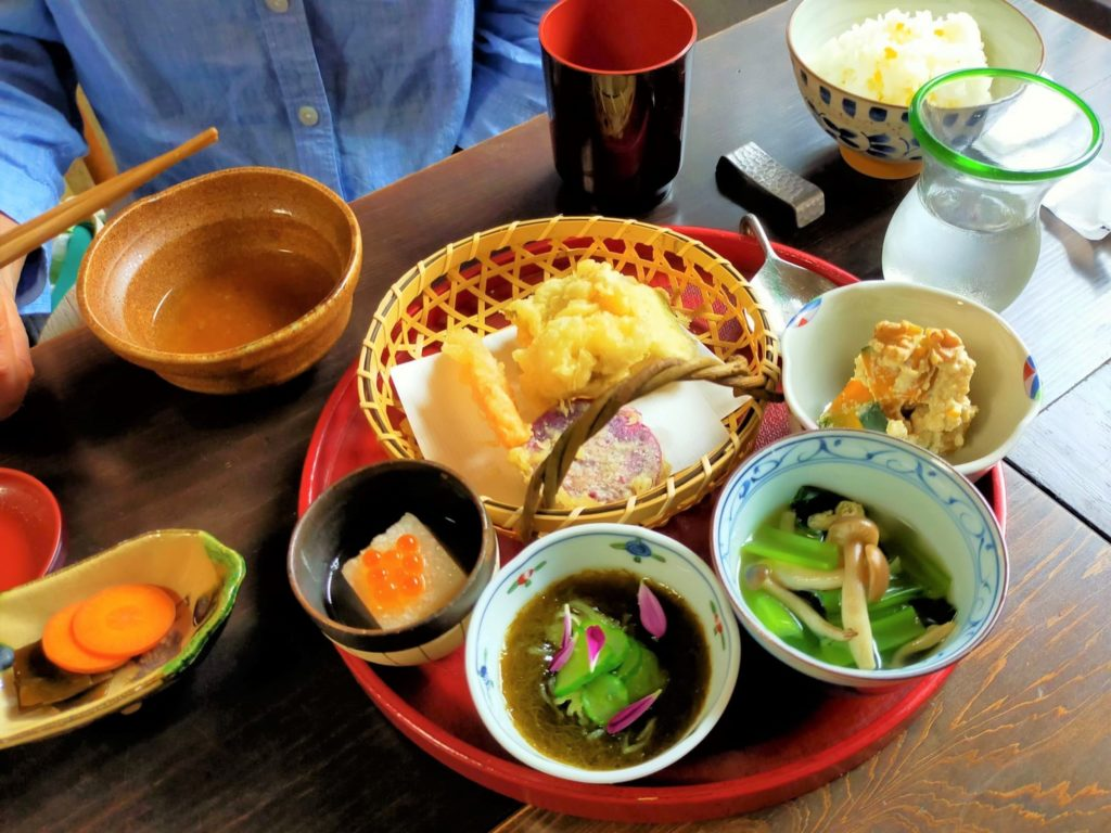ロバのランチ「天ぷら」