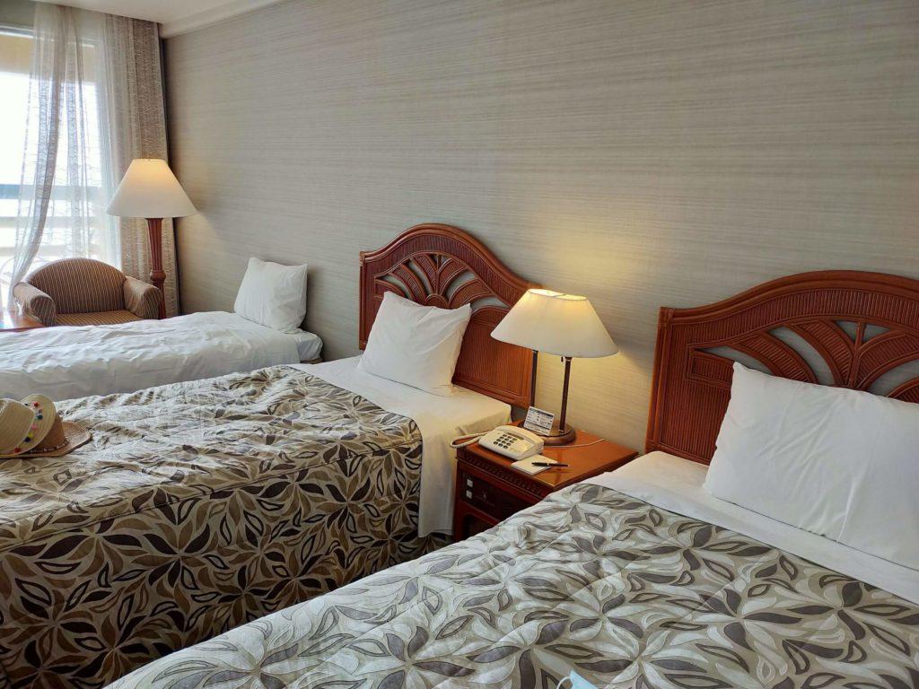 リザンシーパークホテル谷茶ベイのオーシャンビューの客室