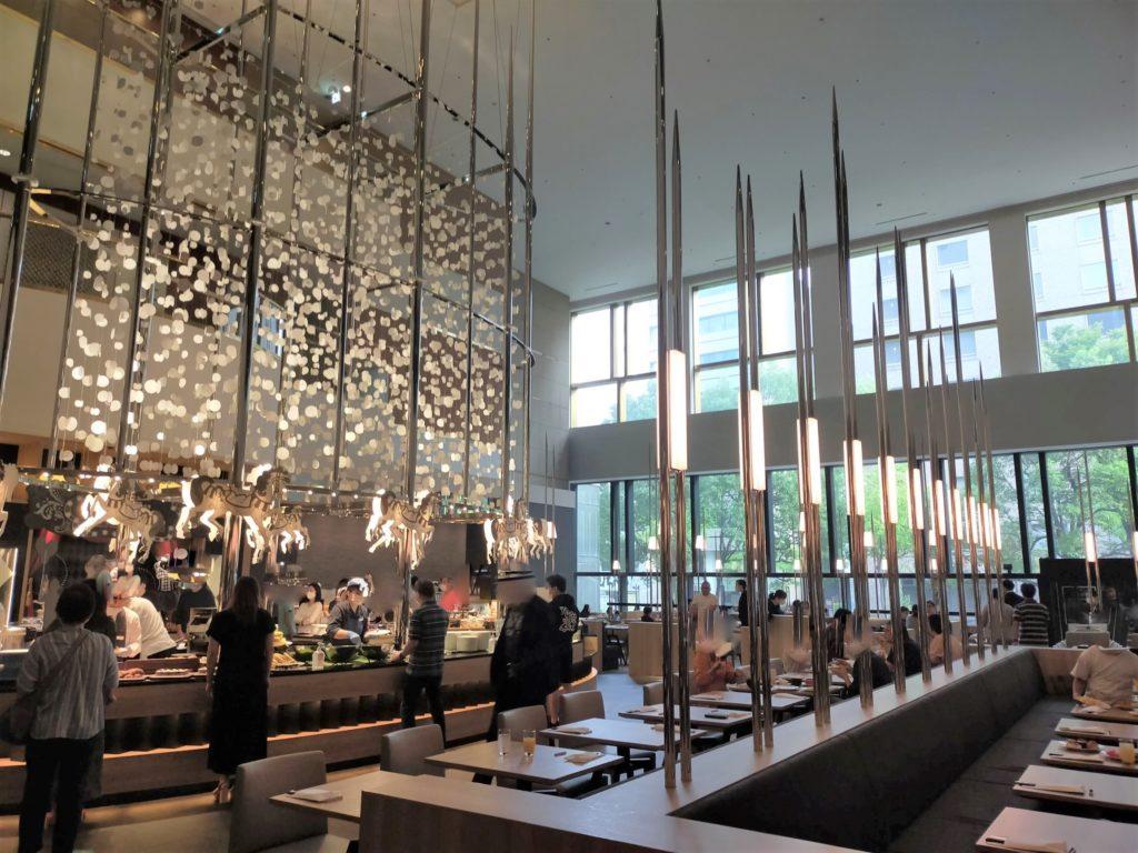 ヒルトン名古屋の朝食会場「インプレイス3-3」の様子