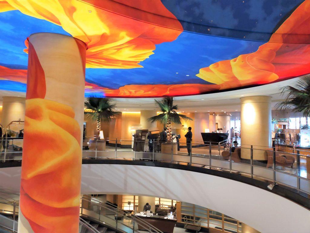 横浜ベイホテル東急のフロント
