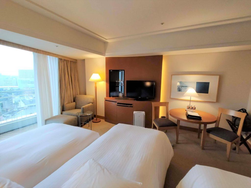 横浜ベイホテル東急のベイニューのお部屋全体の画像