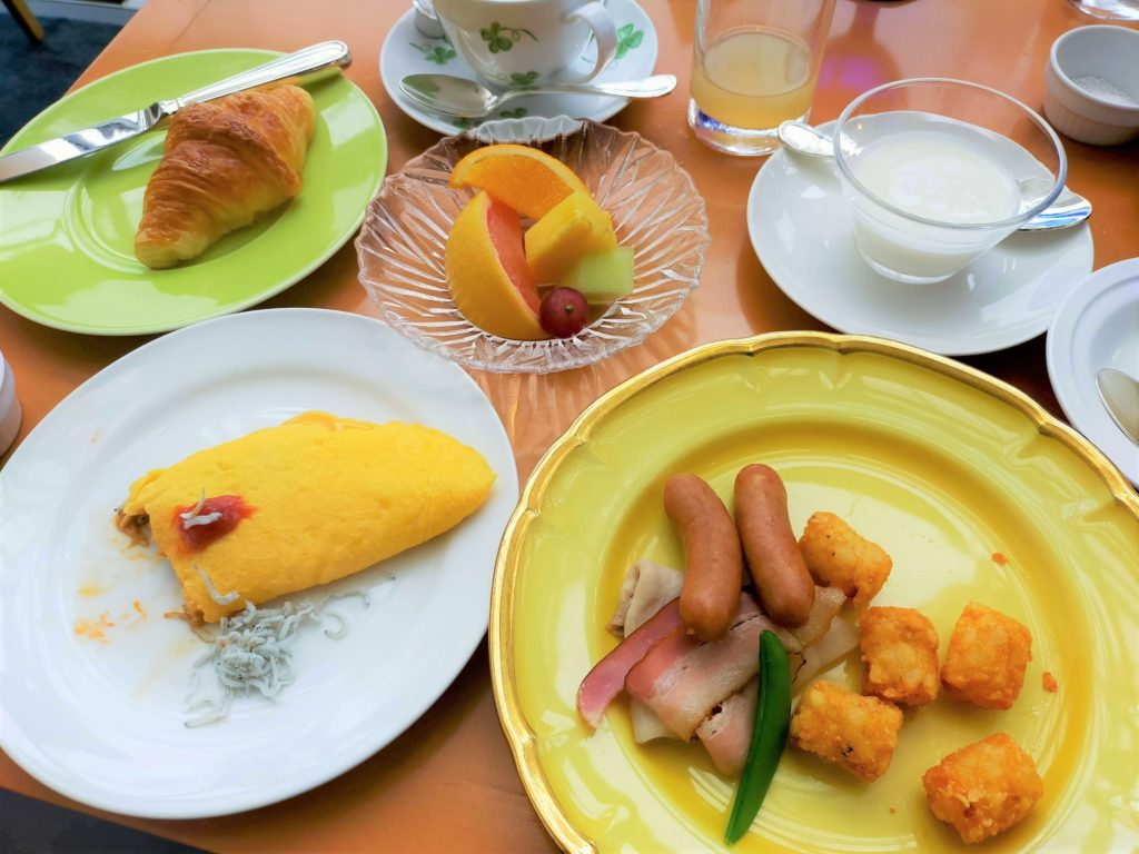 横浜ベイホテル東急「カフェ・トスカ」の朝食