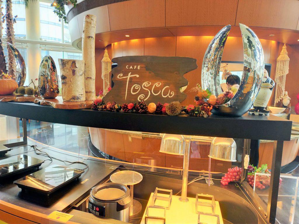 横浜ベイホテル東急のレストラン「カフェ・トスカ」