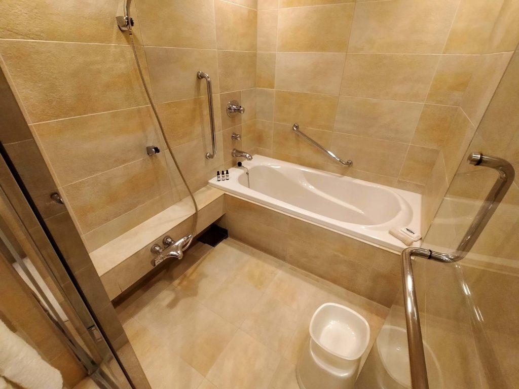 ハイアットリージェンシー箱根のお部屋の浴室