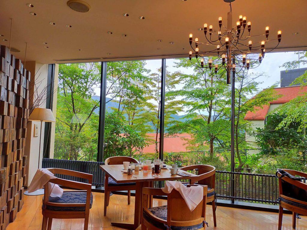 ハイアットリージェンシー箱根の朝食は「ウェスタンキュイジーヌ」にて