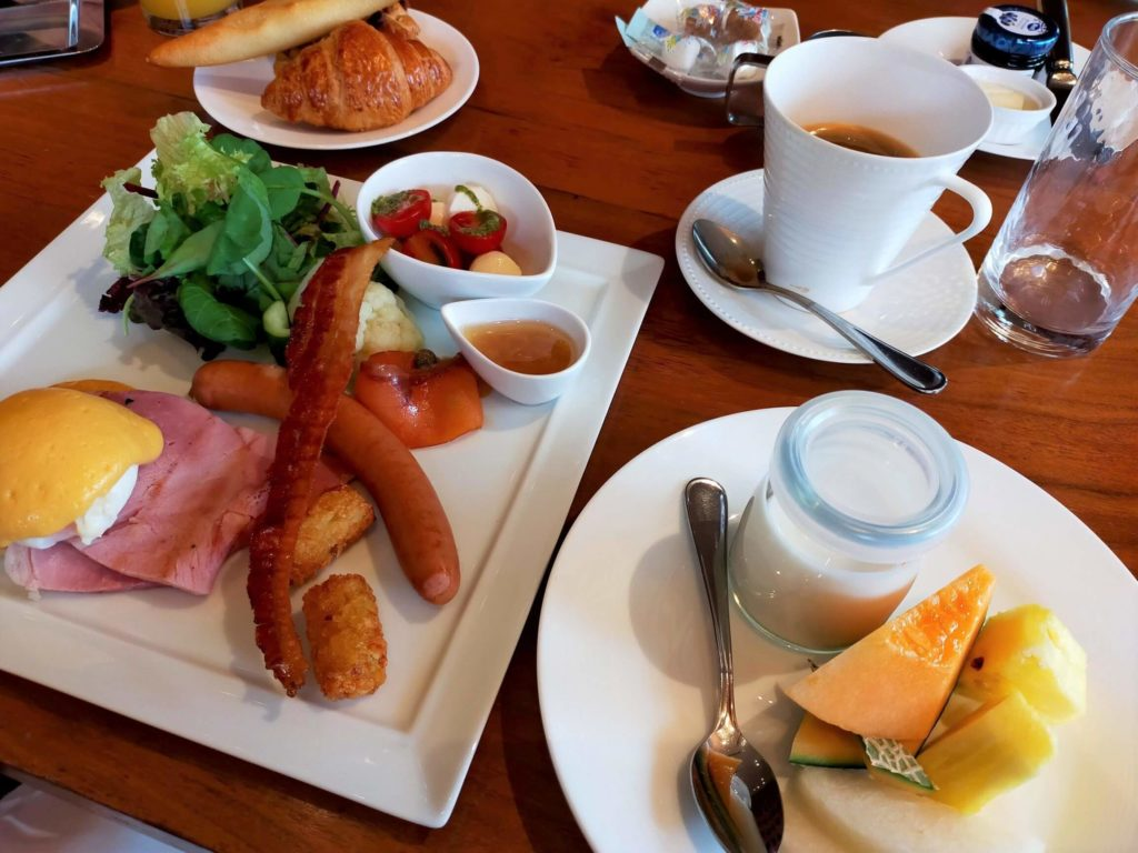 ハイアットリージェンシー箱根の朝食