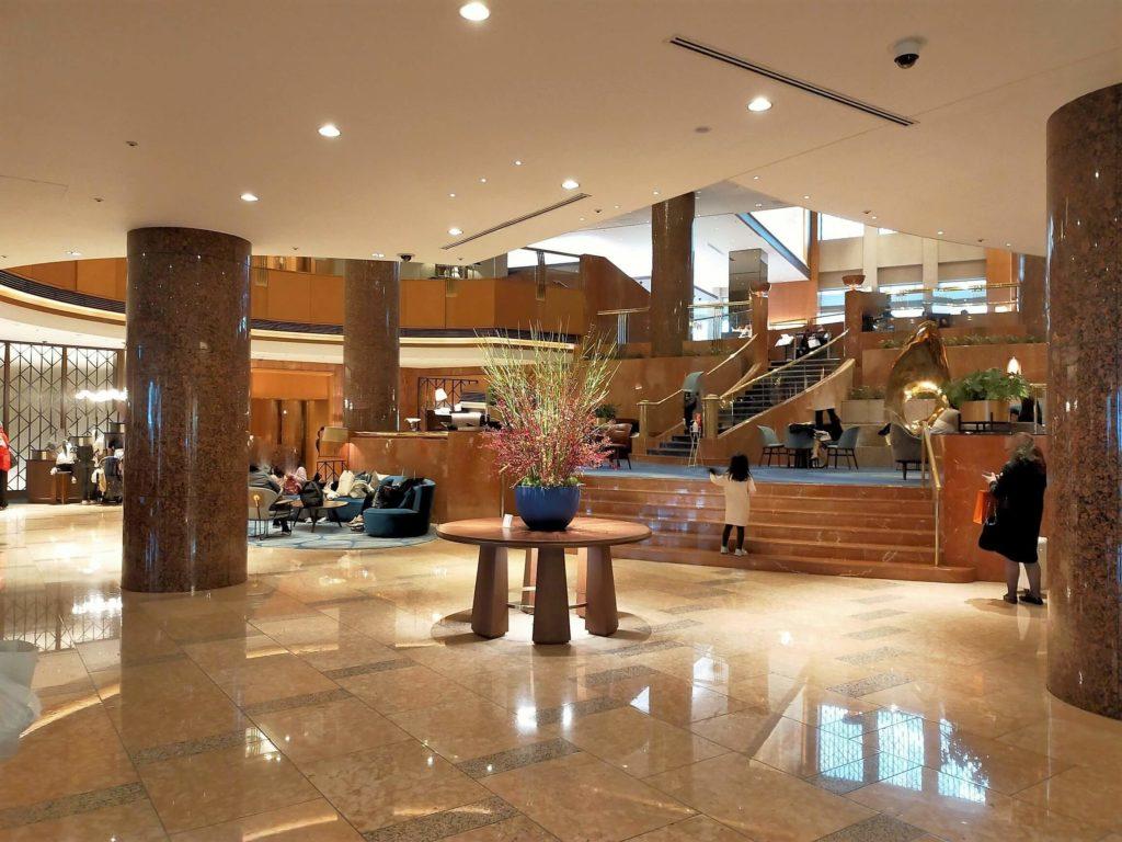 横浜ベイシェラトンホテル&タワーズのロビーの様子