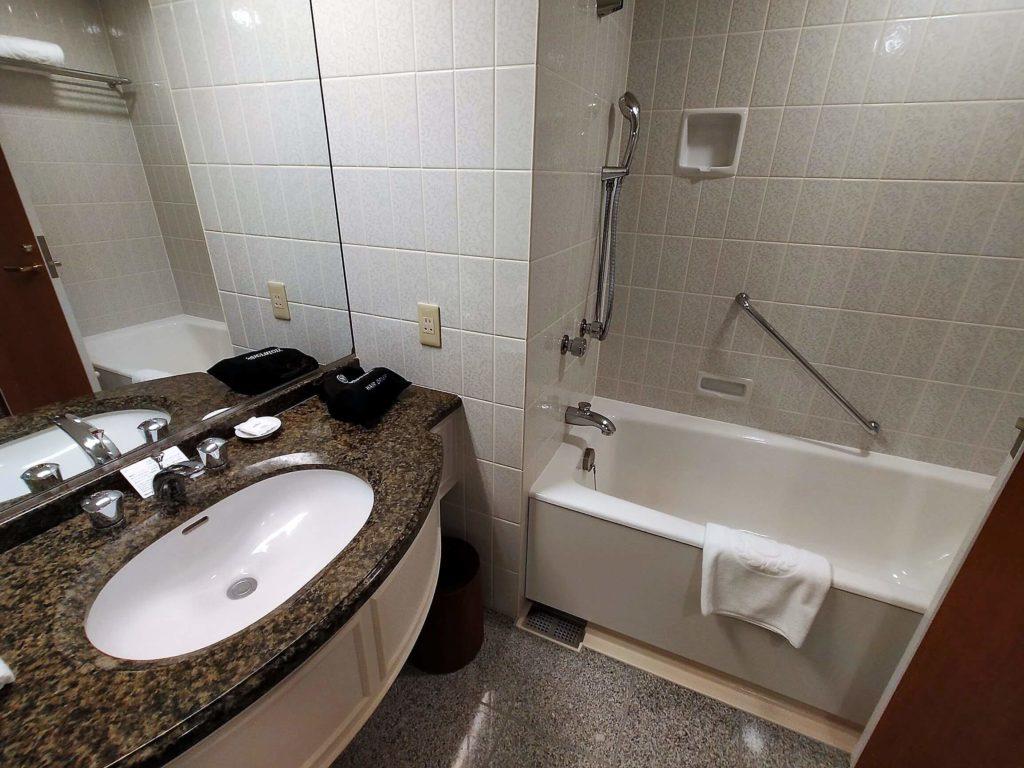 横浜ベイシェラトンホテル&タワーズの浴室
