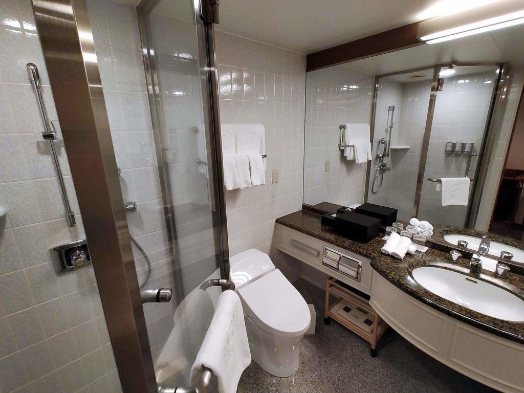 横浜ベイシェラトンホテル&タワーズのシャワーブース