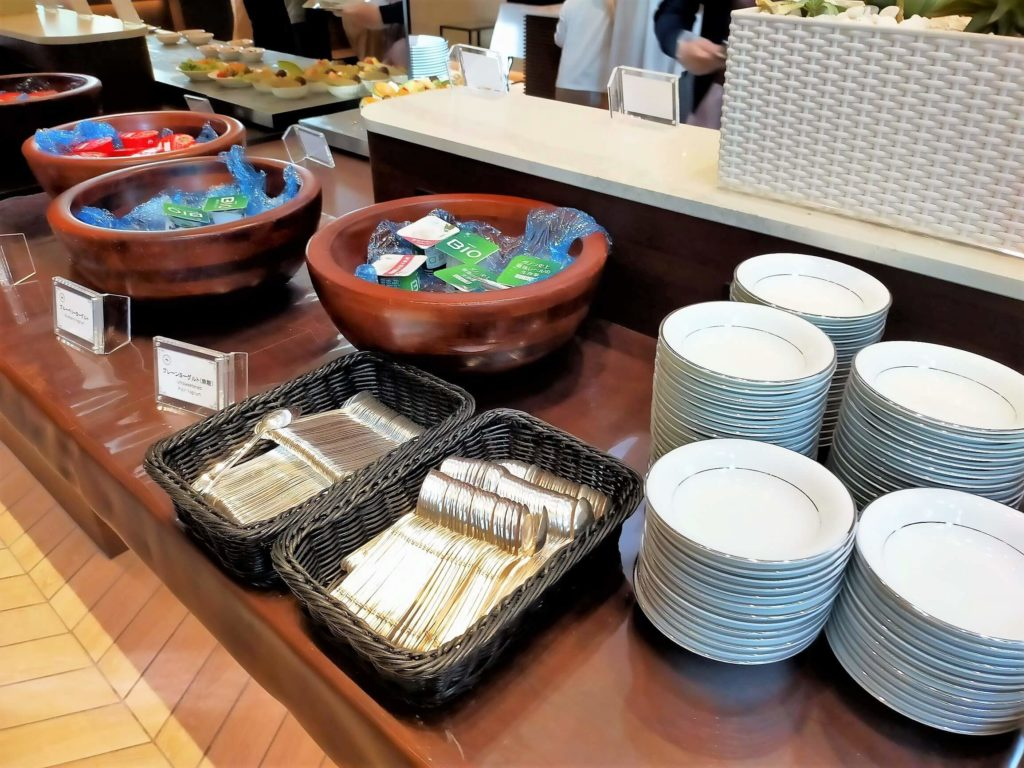 横浜ベイシェラトンホテル&タワーズの朝食「シーウィンド」にて