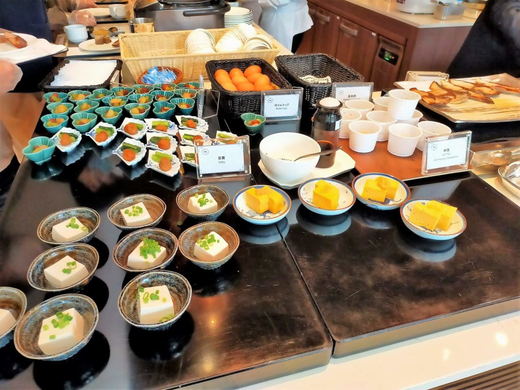 横浜ベイシェラトンホテル&タワーズの朝食「シーウィンド」前菜コーナー