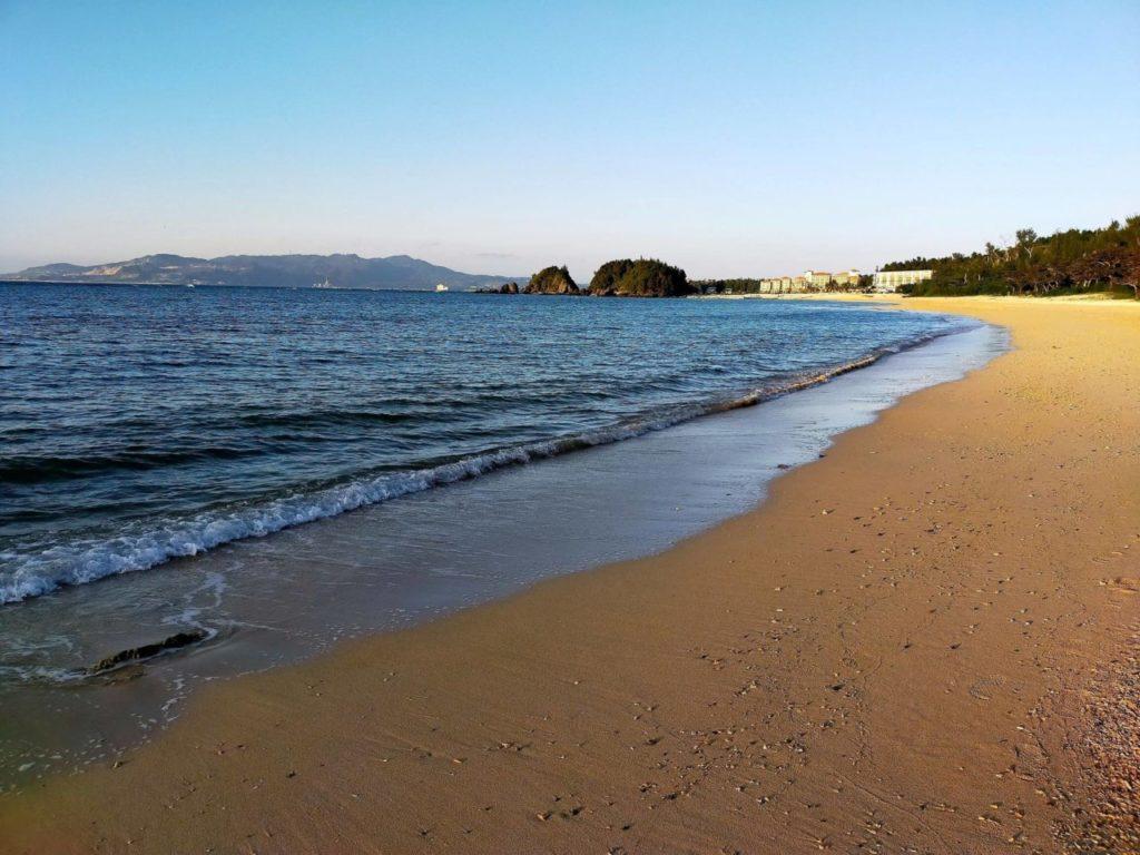 ハレクラニ沖縄のビーチ