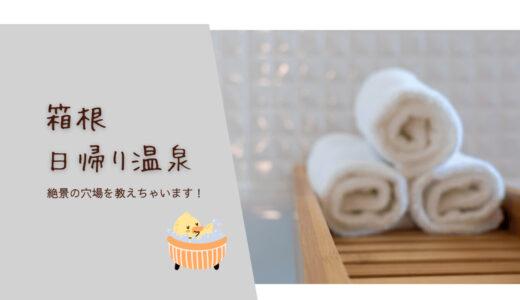 箱根日帰り温泉 龍宮殿本館|絶景が楽しめる穴場を教えちゃいます!