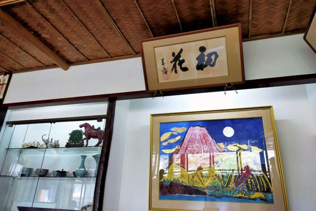 箱根名物、はつ花のお蕎麦(店内の様子)