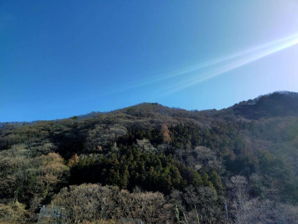 みなかみホテルジュラクからの美しい山の眺め