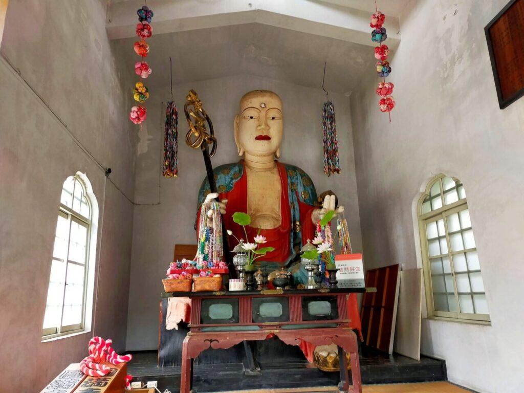 道後温泉の圓満寺の大地蔵様