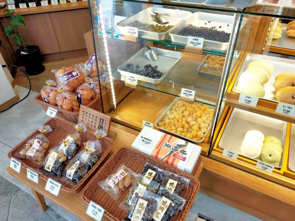 道後・松山の名物「たけうち」の和菓子と勞研饅頭
