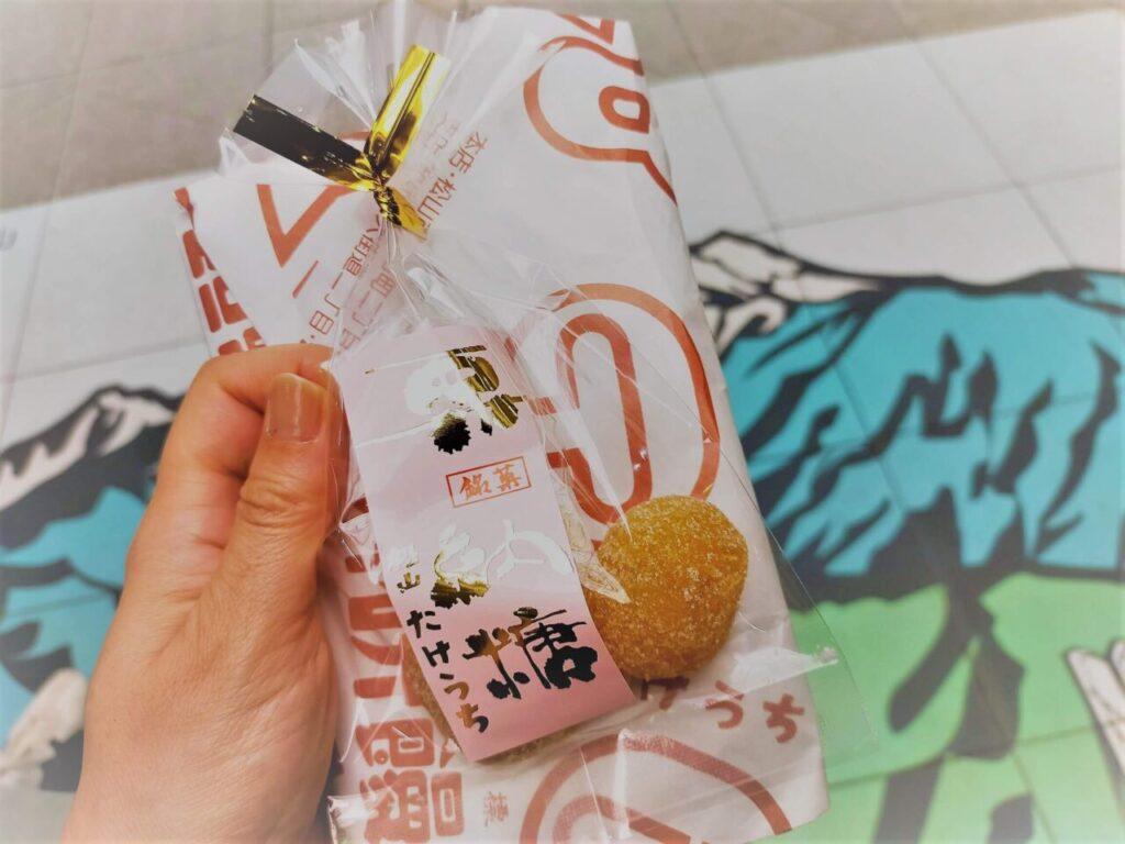 道後・松山名物「たけうちの栗菓子」