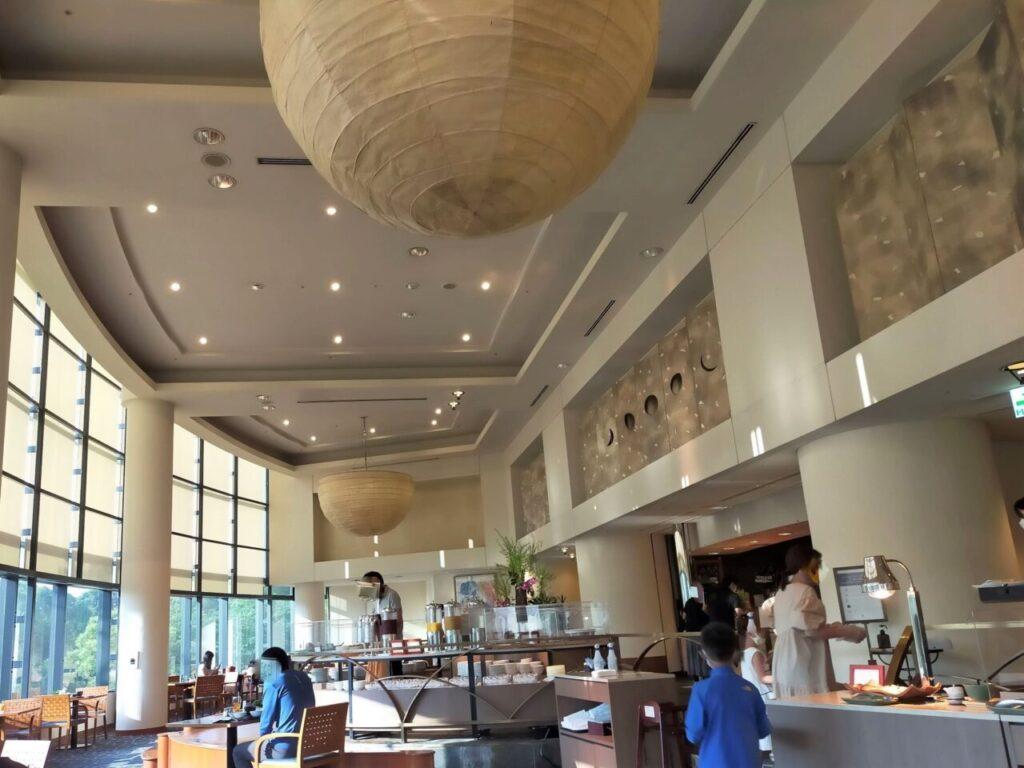 ハイアットリージェンシー大阪「ザ・カフェ」での朝食
